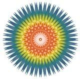 Ayahuasca Ritueel Heilige Bloem Illustratie